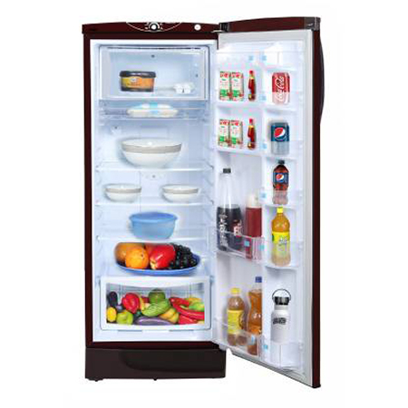 Godrej Edge SX 251 Ltr 3 Star Direct Cool Single Door Refrigerator - RD EDGESX 266C 33 TAI GL WN