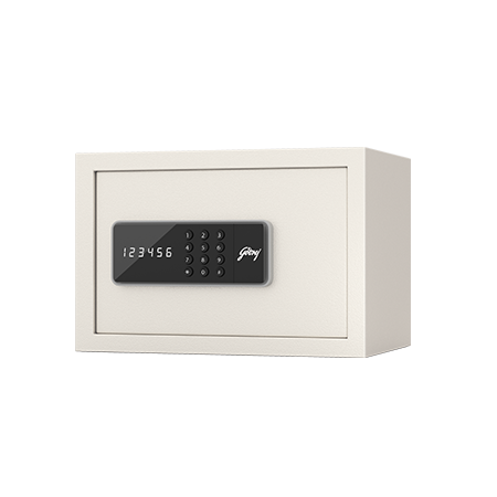 Godrej NX Pro Digital (8L) Ivory Home Locker