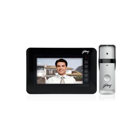 Godrej Solus ST 7 Black Video Door Phone